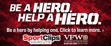 Sport Clips Doylestown​ Help a Hero Campaign